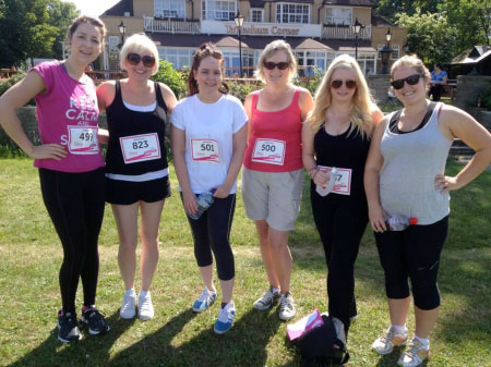 Foodservice Marketing - Race for Life