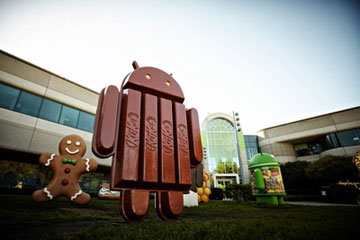 PR Agency Foodservice - Google announces their latest Android...the Android KitKat
