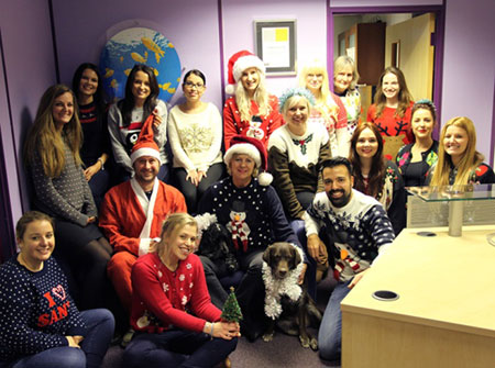 Food PR Agencies - Jellybeans sport their Festive Woolies!