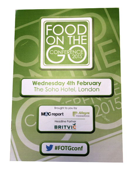 Public Relations Foodservice - Food on the Go Conference