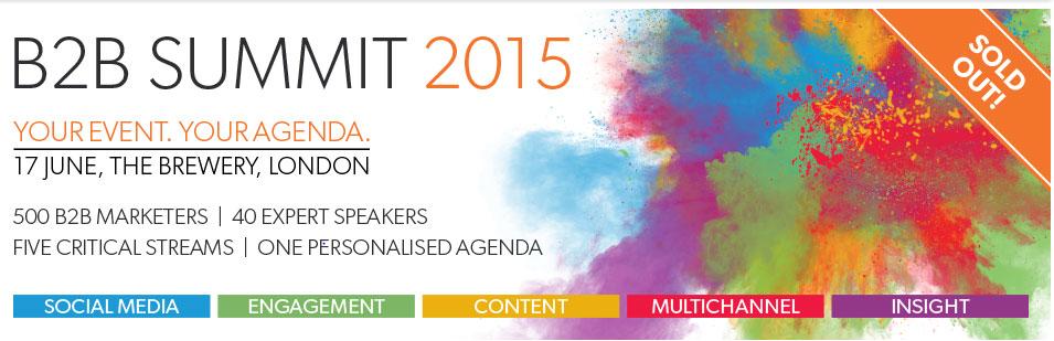 Foodservice Digital Agency - B2B Marketing Summit 2015 Top 10 Take-outs