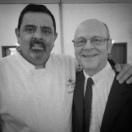 Foodservice Marketing Agency - Mark Lyddy and Cyrus Todiwala - Zest Quest Asia 2016