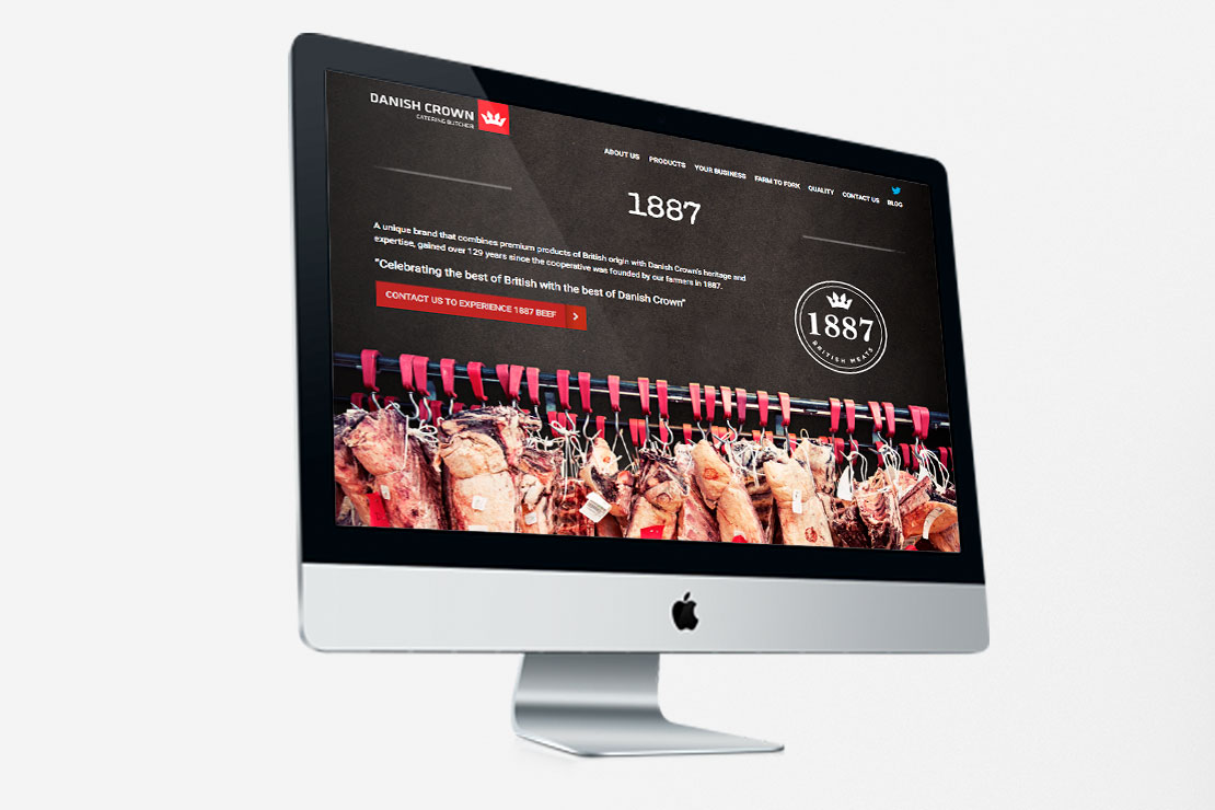 Food and Drink Agency - Danish Crown Website