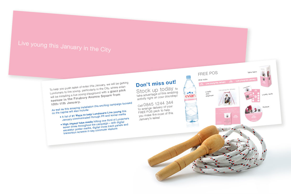 Food and Drink Agency - Evian