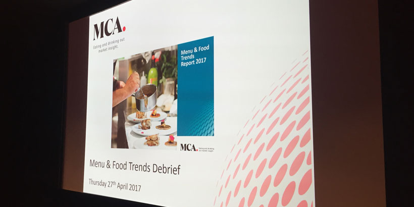 Foodservice Agency - MCA Quarterly Debrief - Top Ten Take Outs