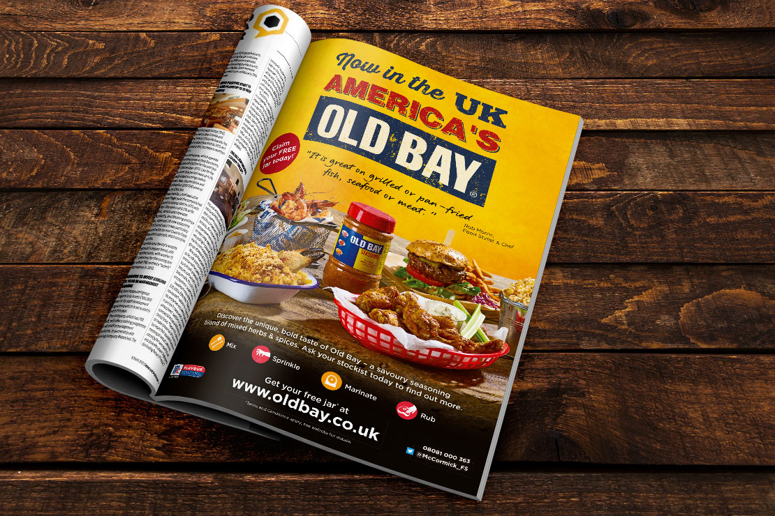 Foodservice Agency - McCormick Campaign