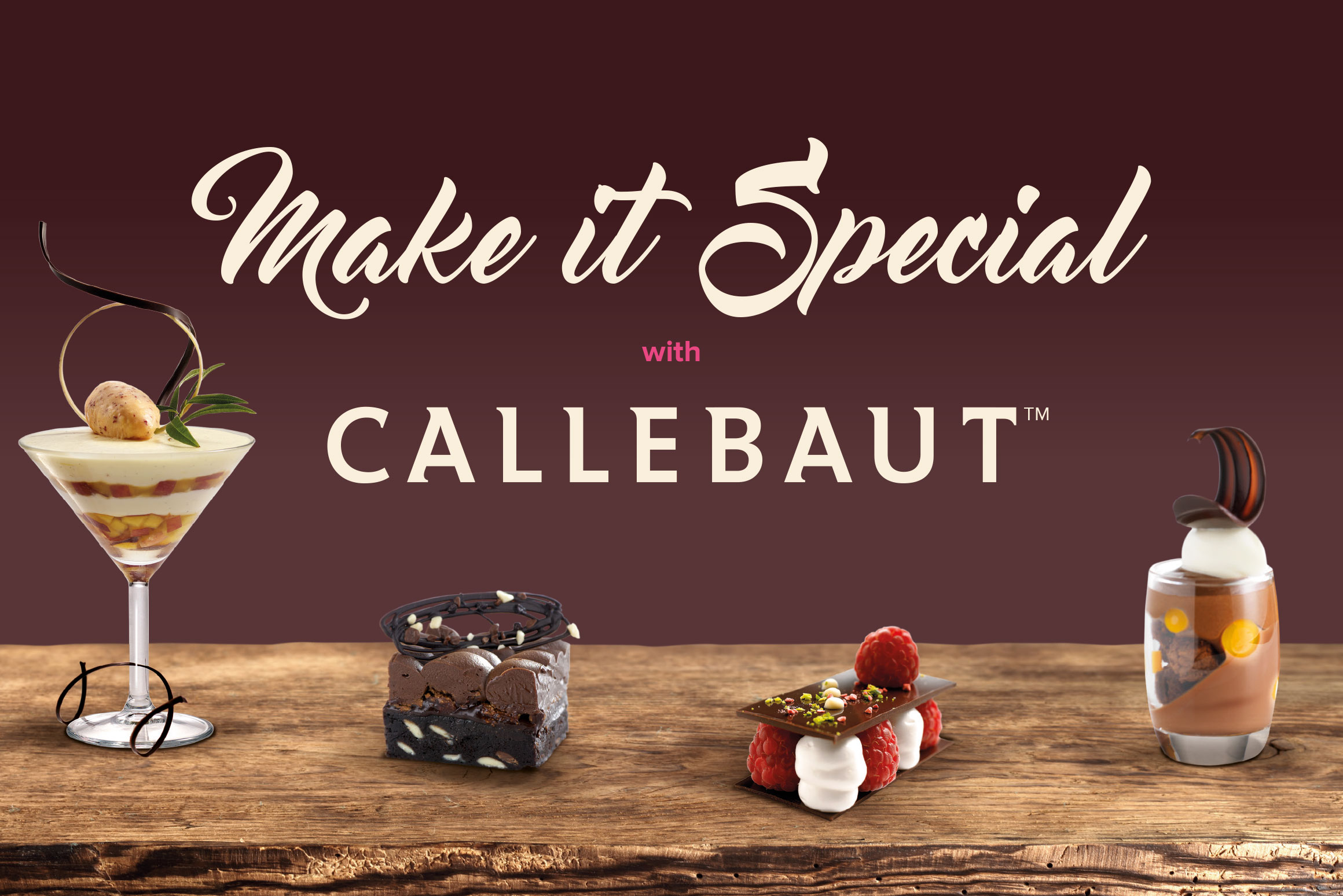 Foodservice Marketing - Callebaut Make it Special