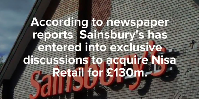 Sainsbury's & Nisa. Deal or no Deal?