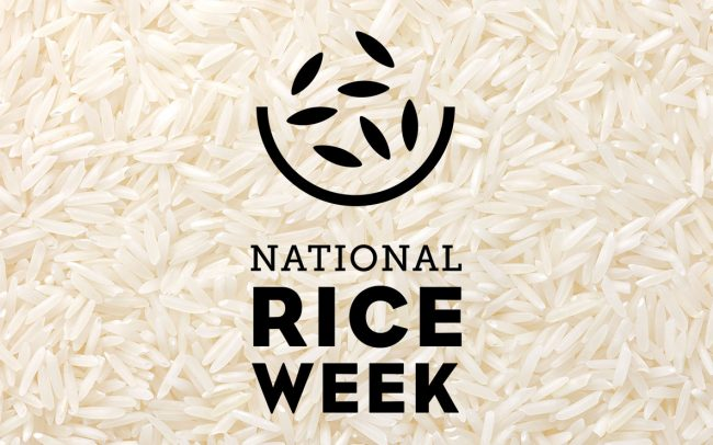 Foodservice PR - National Rice Week