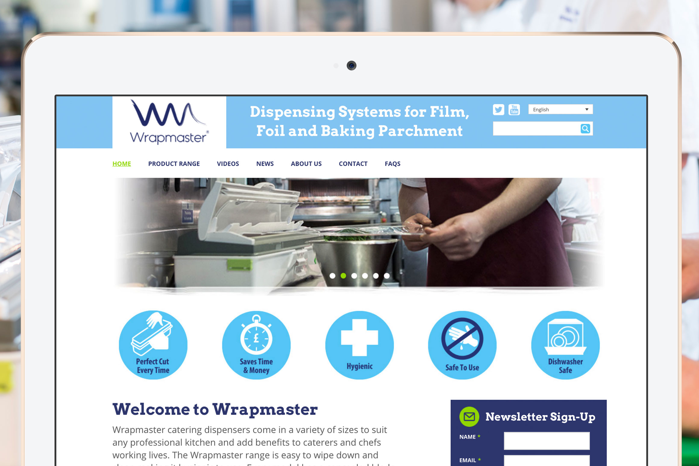 Wrapmaster Website - Main Image