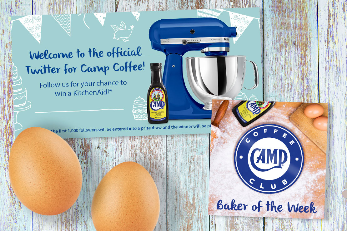 Food Service PR Agency - Camp Coffee - Jellybean Creative Solutions