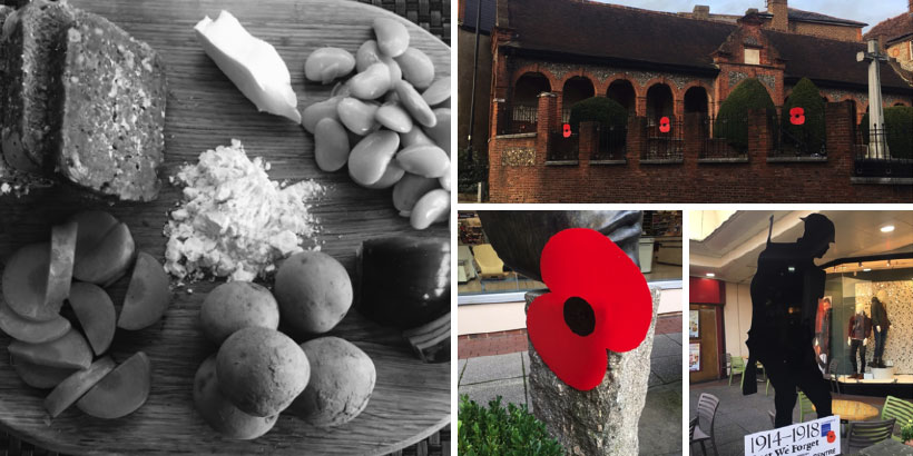 Foodservice PR - Remembrance Sunday - A Rations Experiment