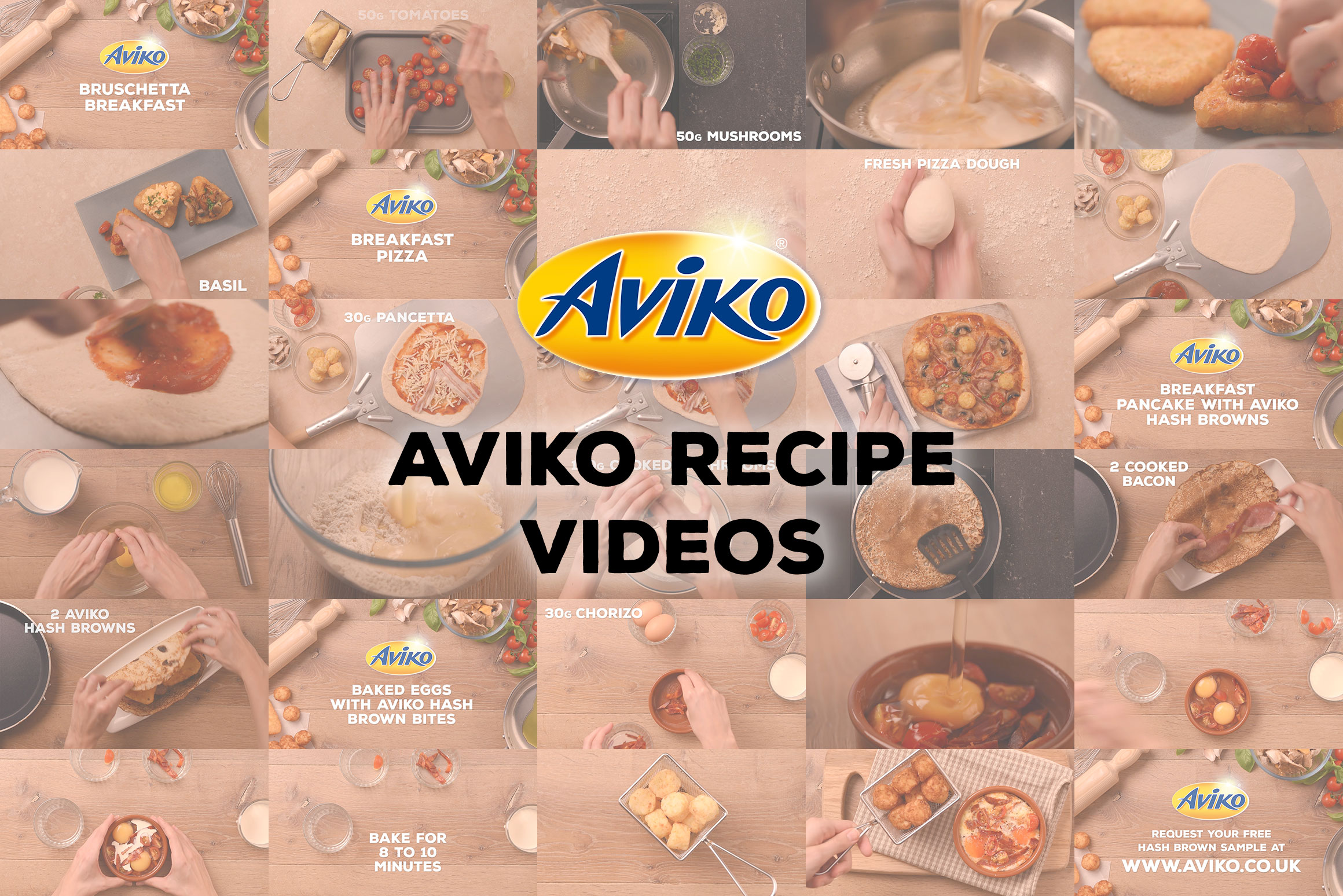 Aviko Recipe Videos - Foodservice Marketing Agency - Jellybean Creative Solutions