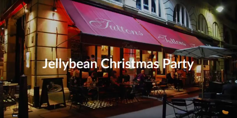 Foodservice Marketing - Jellybean Christmas Party