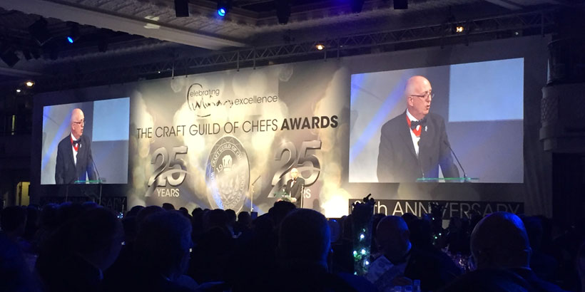 Foodservice Marketing - 25th Craft Guild of Chefs Awards