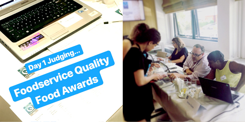 Foodservice Social Media - Judging at the QFA Awards - Getting Social - Jellybean Creative Solutions