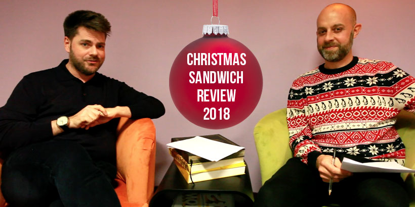 Christmas Sandwich Review 2018 - Jellybean Creative Solutions - Foodservice Marketing Agency