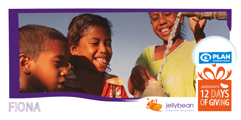 12 Days of Giving - Fiona Rickard - Plan International - Jellybean Creative Solution